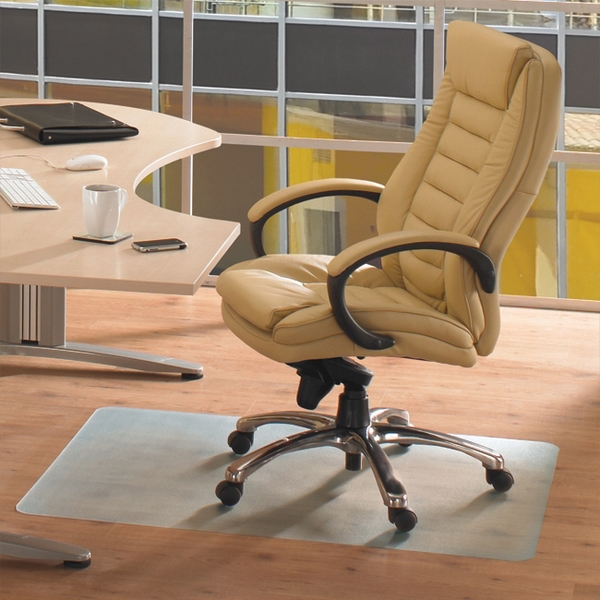 Office chair mat u2013 creative floor protection ideas