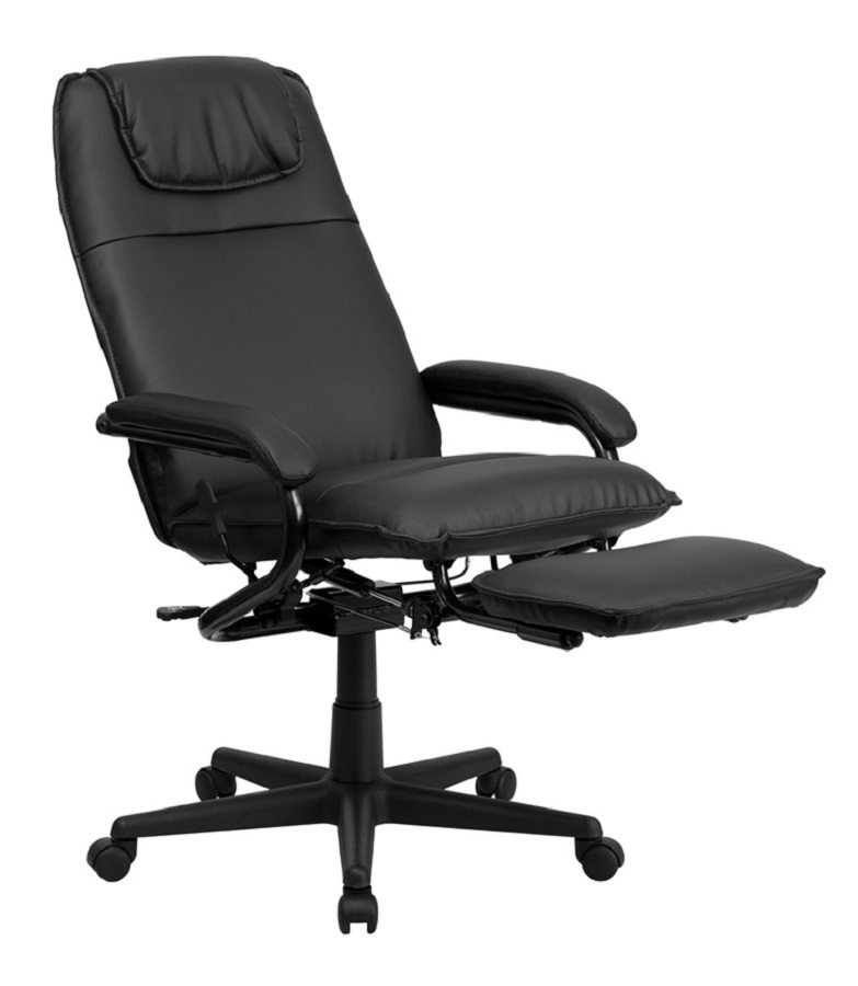#2 Pick Flash Furniture High Back Leather Executive Reclining Swivel Office  Chair