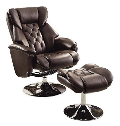 Homelegance Recliner Office Chair with Footrest