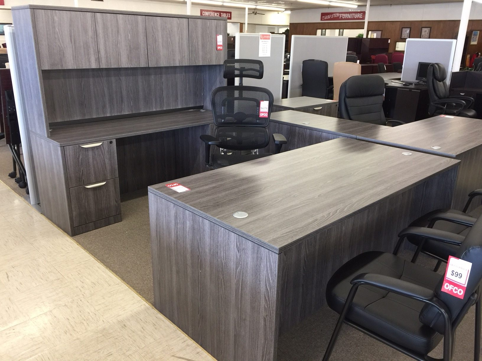 Welcome to OFCO New and Pre-Owned Office Furniture where we Sell for Less!