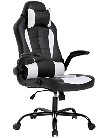 Office Desk Gaming Chair High Back Computer Task Swivel Executive  Racingchair for BackSupport with Lumbar Support