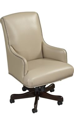 Office Chairs - Leather & Wood Chairs for the Office | Havertys