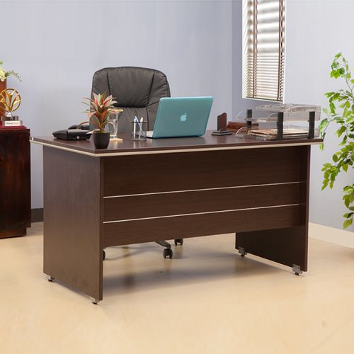 Integra Engineered Wood Office Table in Vermont Colour by HomeTown