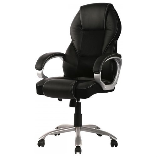 New High Back PU Leather Office Chair Ergonomic Executive Task Chair Swivel  T96 0
