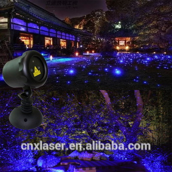 Battery Powered Outdoor Christmas Laser Lights P65 Christmas Star