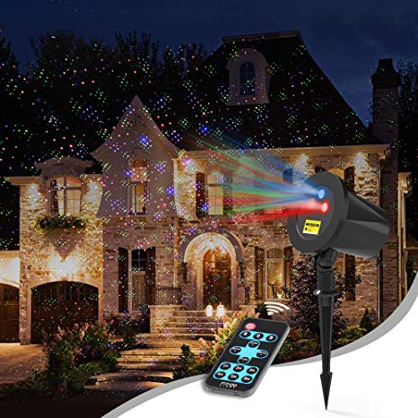 Amazon.com: Laser Christmas Lights Outdoor, Aluminum RGB InnooLight