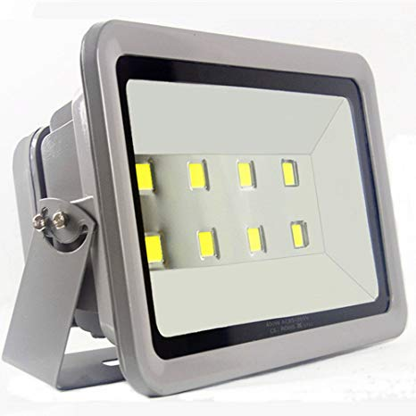 LED Flood Light 400W Outdoor Lighting u2013 AI YONG 6000K SUPER BRIGHT  Waterproof Path Lights White Light Outdoor Flood Lights 40000LM 100%  Aluminum
