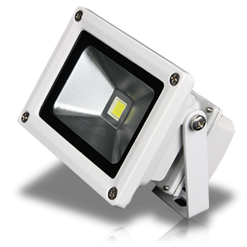Outdoor LED Flood Light White 900 Lumens | Products | Lunasea Lighting
