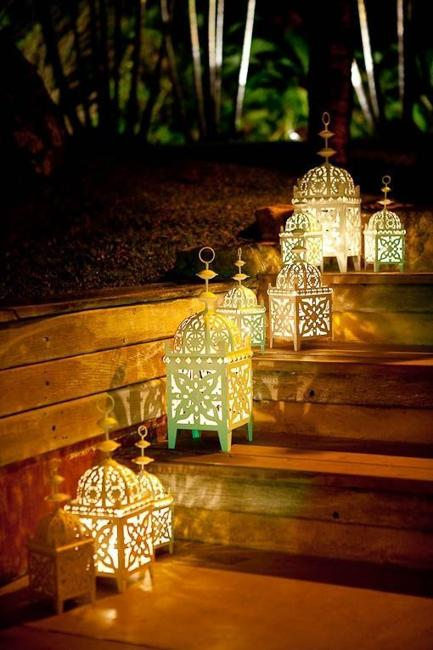 Romantic Outdoor Lights, Attractive Lighting Ideas for Decorating
