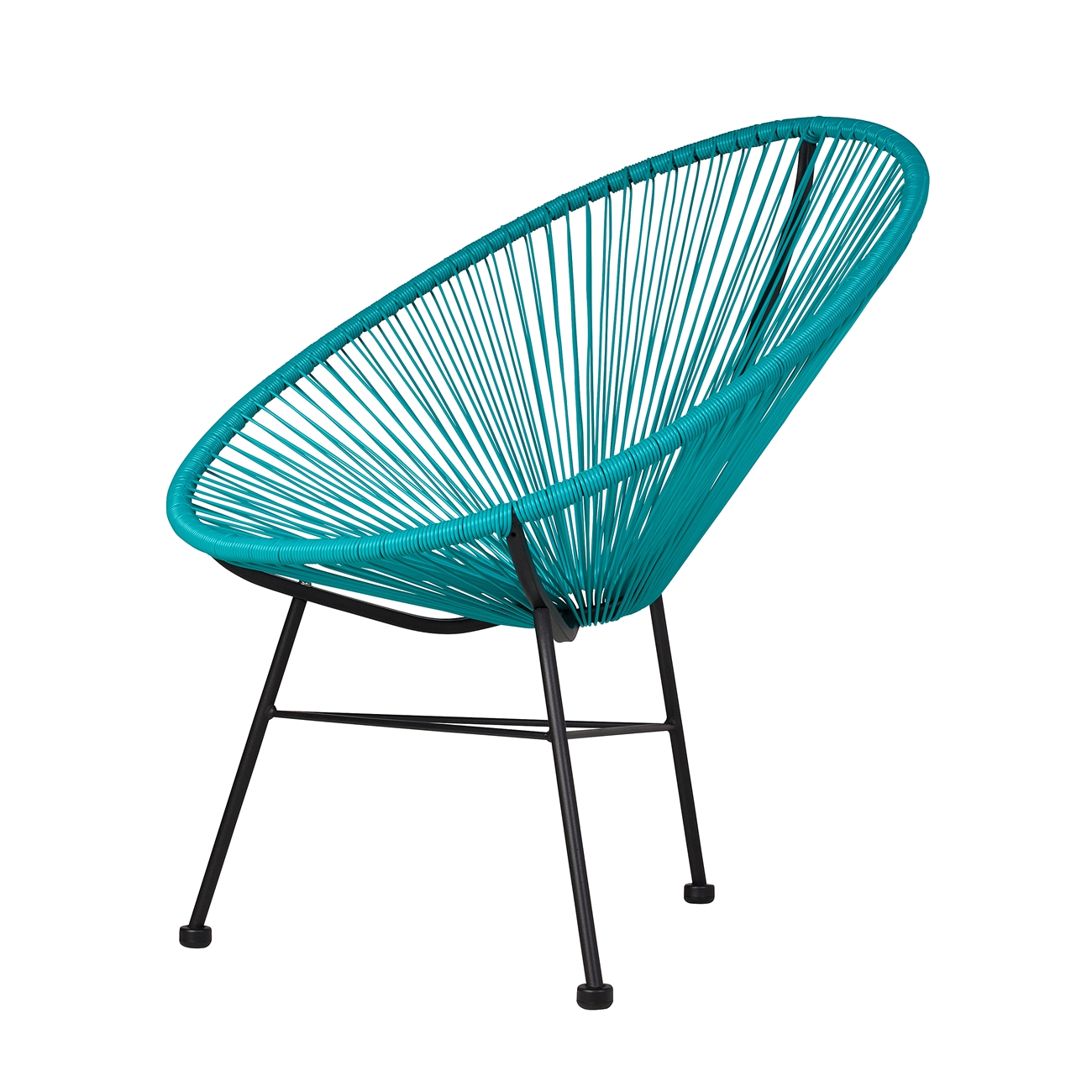 Acapulco Outdoor Lounge Chair Blue, The Khazana Home Austin Furniture Store