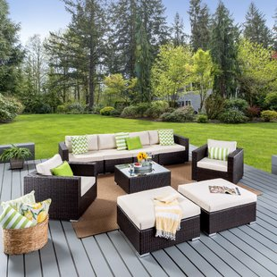 Bennett Outdoor Sofa Seating Group with Cushions