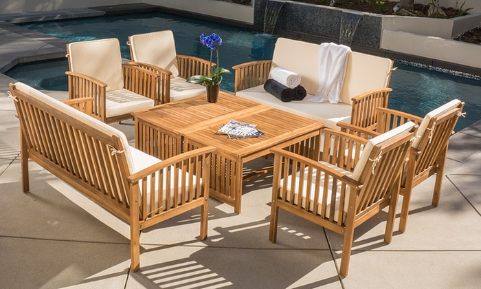 8-Piece Outdoor Seating Set