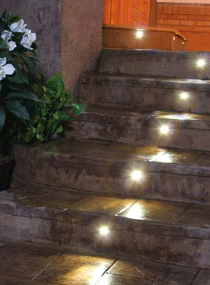 LED Stair Lights | Indoor & Outdoor Recessed LEDs by DEKOR® Lighting