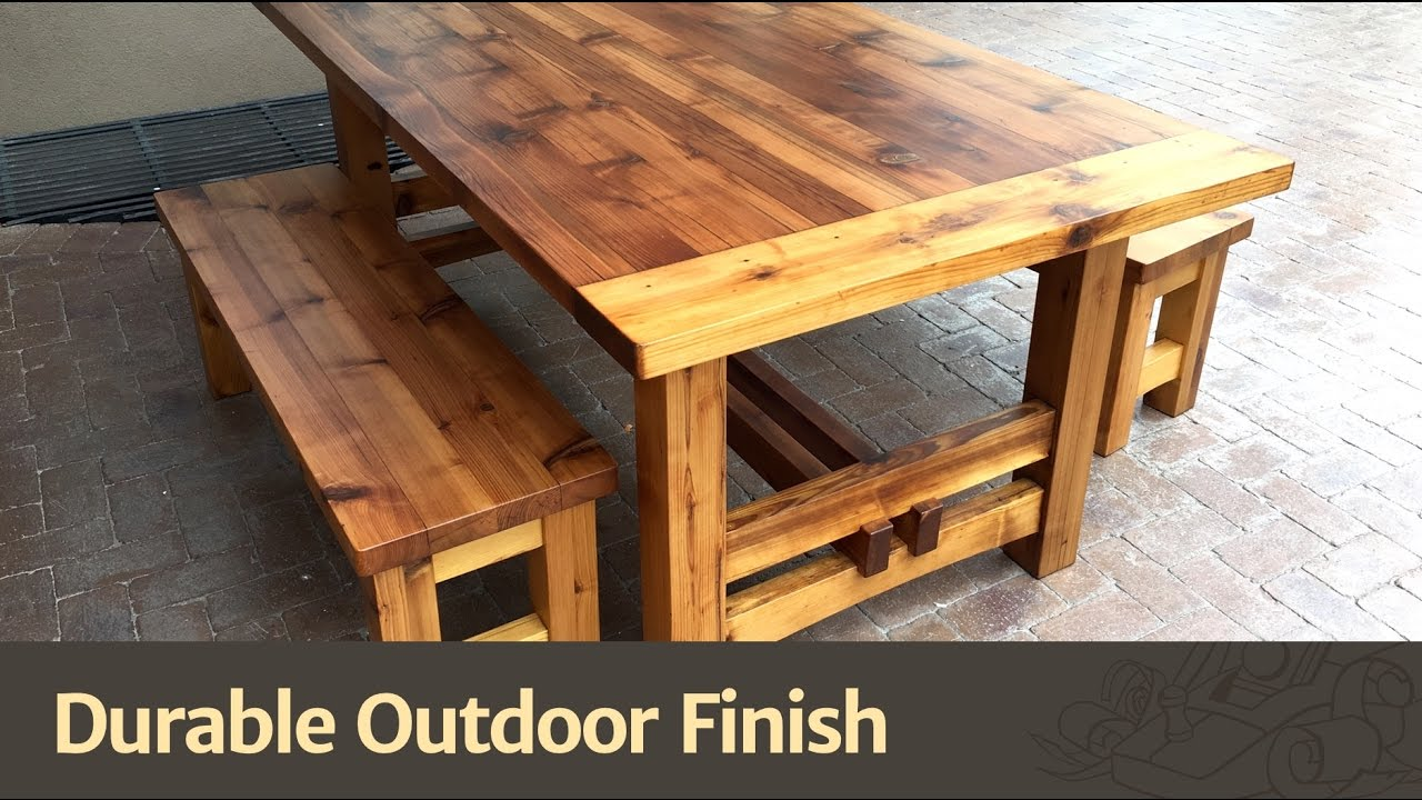 Durable Outdoor Finish. The Wood Whisperer