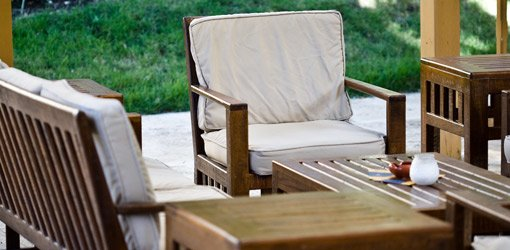 How to Clean Outdoor Patio and Deck Furniture. Outdoor wood furniture