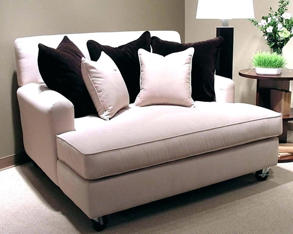 Oversized Loveseat With Ottoman Dubious Interior Design 8