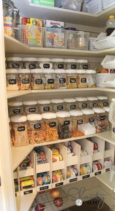 6 of the Most Organized Pantries You've Ever Seen! | Large family
