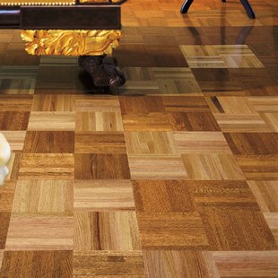 Parquet Hardwood Flooring You'll Love | Wayfair