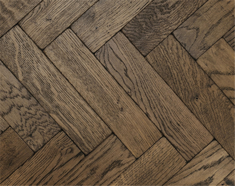 Rich Vintage Oak Parquet Flooring