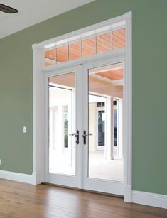 Get Into the Swing with a Hinged Patio Door