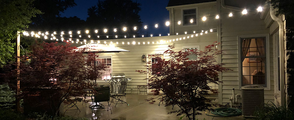 Perfect Patio String Lights feature
