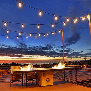 Quill Outdoor Patio Globe String Lights