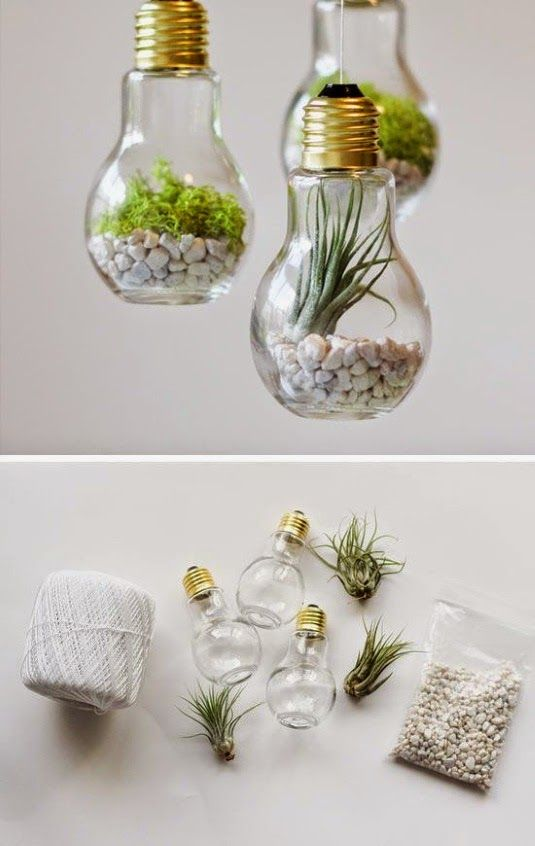 30 Beautiful DIY Ways to Upcycle Lightbulbs | Project ideas