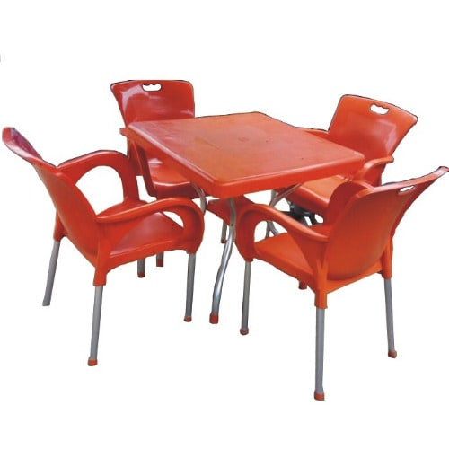 Plastic Round Table And Four Plastic Chairs | Konga Online Shopping