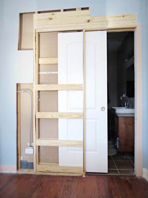 Pocket doors on Pinterest | Explore 50+ ideas with Interior pocket doors,  French pocket doors and Bathroom pocket door, and more