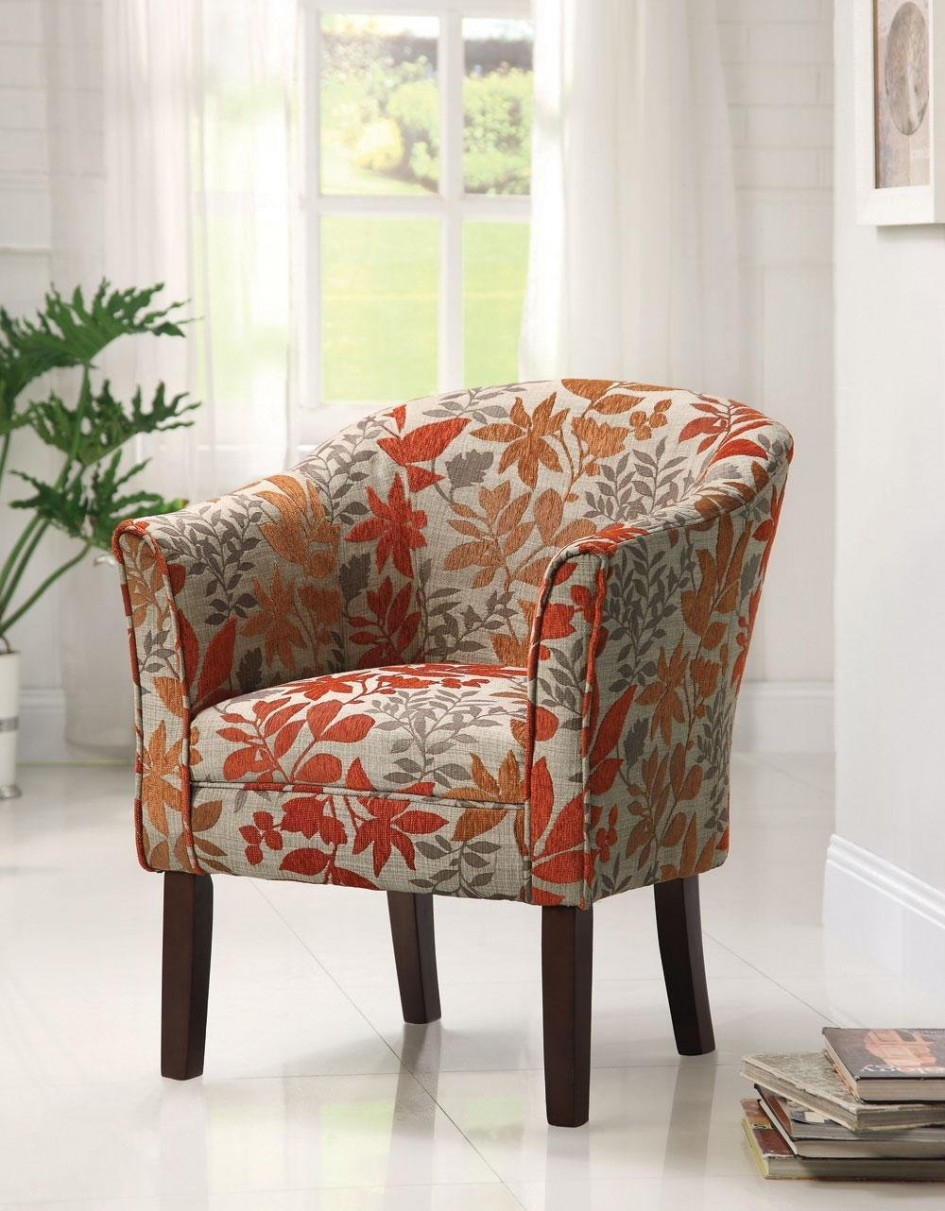 Aumtumn Printed Accent Chairs
