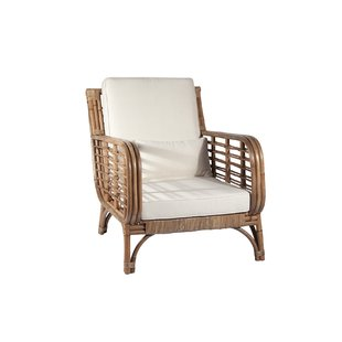 Square Back Rattan Chair