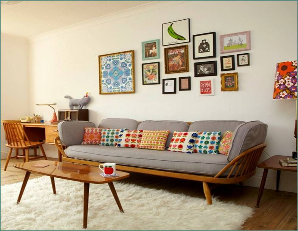 30 Minimalist Living Room Ideas Inspiration To Make The Most Of Within Retro  Furniture Idea 0