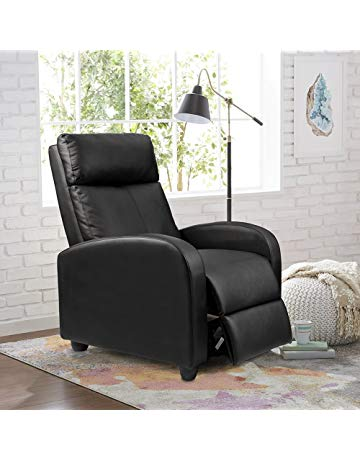 Homall Recliner Chair Home Theater Seating Modern Lounger Sofa Seat