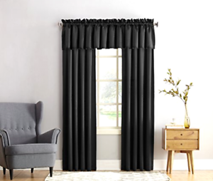 Image is loading Blackout-Curtain-Thermal-Insulated-Curtains-Panel-Room- Darkening-