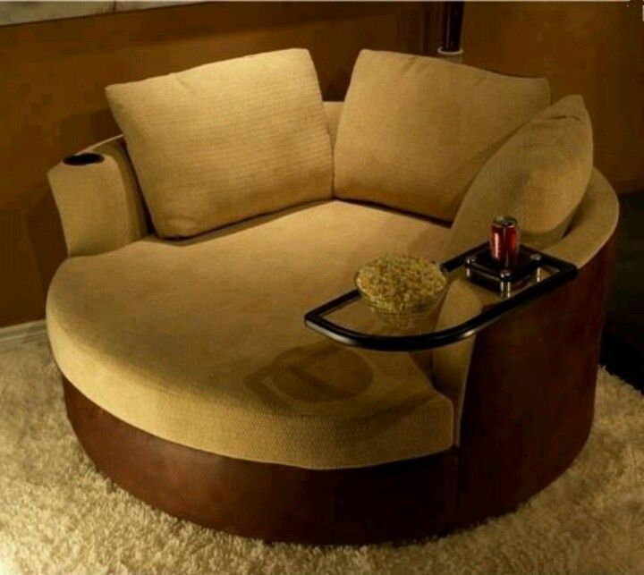 Round Loveseat Chair