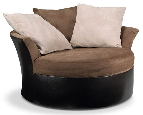 Round Swivel Loveseat Ideas For Updating Living Room And