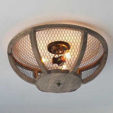 Ceiling Lights | Rustic, Wooden & Farmhouse Designs - Shades of Light