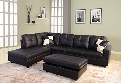 Lifestyle LSF091A-3PC Sectional Sofa Set