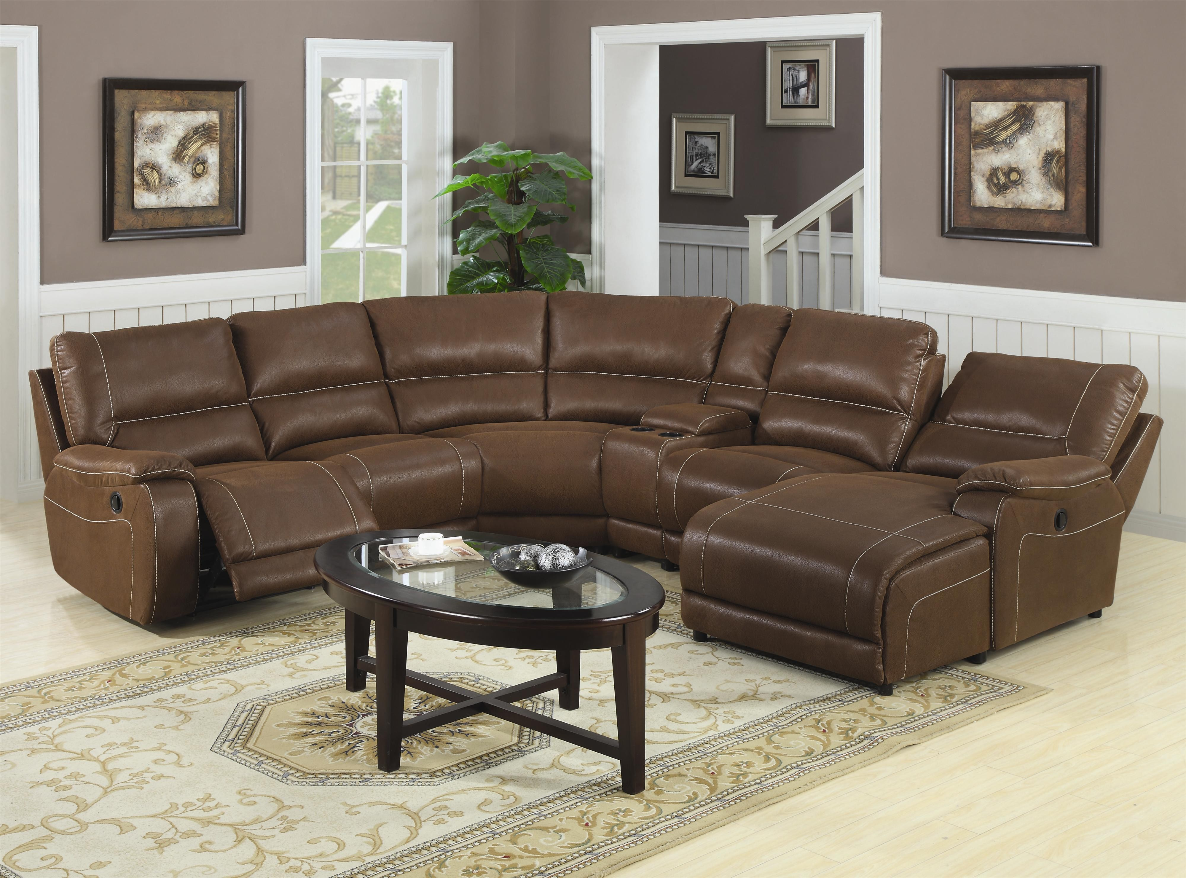 Sectional Reclining Sofas | Recliner Sectional Sofas Small Space | Leather Sectional  Sofas with Recliners and