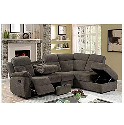 Image Unavailable. Image not available for. Color: AVIA Sectional Reclining  Sofa