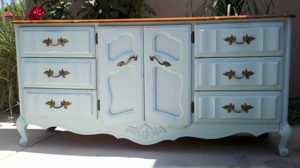 Be sure that the furniture is solid wood, as veneered surfaces generally  will not work well.