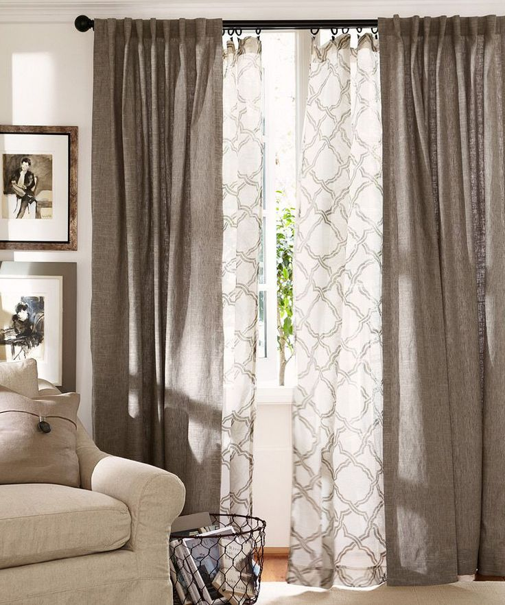 Kendra Trellis Sheer Curtain | Home || LIVING ROOMS | Pinterest | Curtains,  Layered curtains and Home Decor