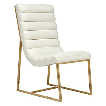 Gunnar Dining Chair   Small Dining Tables & Chairs   Small Spaces   Z  Gallerie