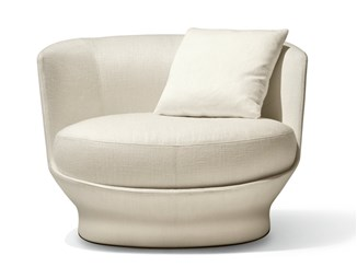 Fabric armchair ALL AROUND | Armchair