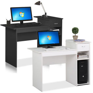 Image is loading Small-Computer-Study-Student-Desk-Laptop-Table-with-