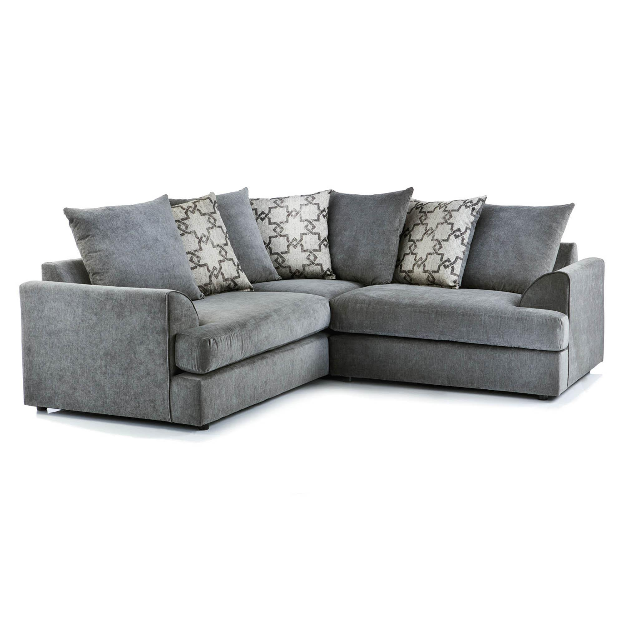 Washington Fabric Corner Sofa