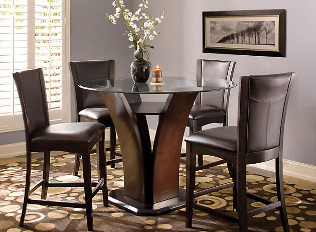 Dining Room Dilemma | Small Space Solutions | Raymour and Flanigan  Furniture Design Center