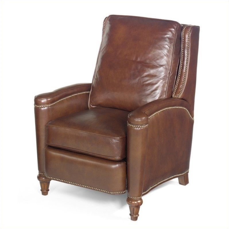 Hooker Furniture Seven Seas Leather Recliner Chair in Valencia Arroz -  RC216-088