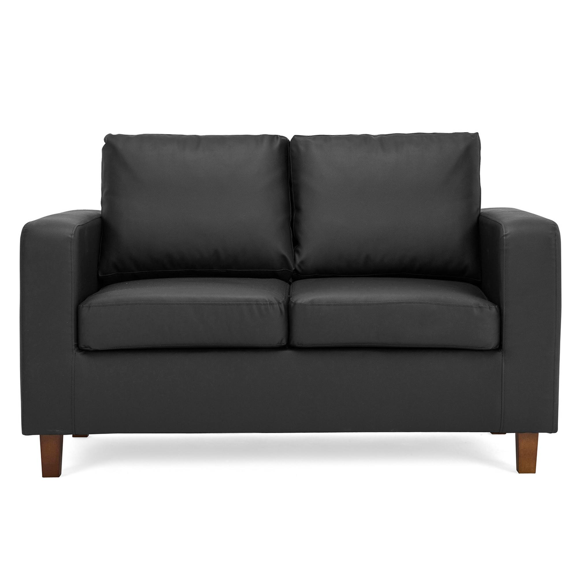 Max 2 Seater Faux Leather Sofa. loz_exclusively_online