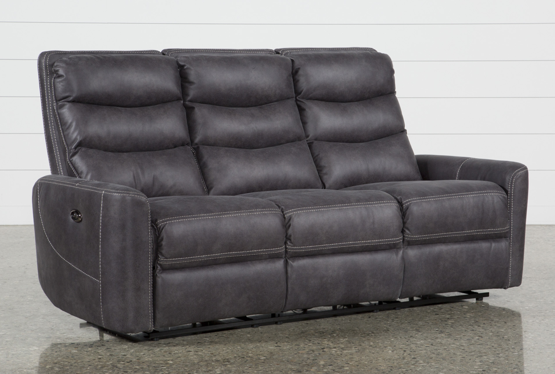 Malia Power Reclining Sofa With Usb (Qty: 1) has been successfully added to  your Cart.